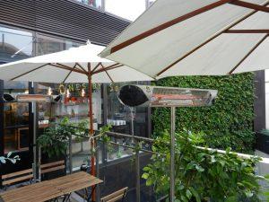 東京都渋谷区飲食店様での設置事例