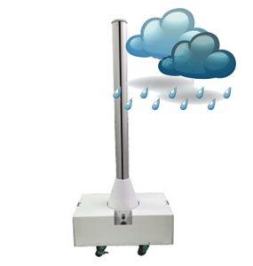 冷風ファンは防雨性能を持っています