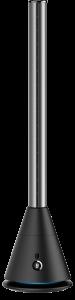COOL-D-001B 空気清浄機能付スリムタワーファン黒 外観