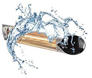 ペガサスヒーターは完全防水仕様IP65です